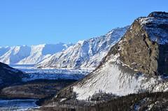 View from the Glenn Highway (steve_scordino) Tags: mountains snow matanuskaglacier glacier