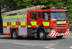 Isle of Wight Fire and Rescue Service - Brand new Scania P280 Pumping Appliance (WX17 BXP) (Darren // UK Emergency Vehicles) Tags: isleofwight