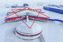Russia's top-secret Trefoil military base in the Arctic Circle revealed for first time to West on 19 April 2017 (Exopolitika Magyarország) Tags: russia topsecret arctica military base