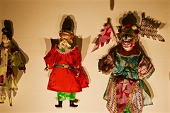 Wall puppets (Mersa Photography) Tags: mao museum art oriental turin city italy ambient zen culture