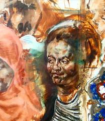 Tube Portait 2017 (London_Sketches) Tags: tube portrait underground londonsketches londonunderground oilpainting painting londonartist artist art colour tfl