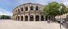 Arènes de Nîmes (dieLeuchtturms) Tags: nîmes römisch europa okzitanien amphitheater 21x9 antike panorama arena frankreich languedoc 235x100 7x3 classicalantiquity europe france occitanie roman fr