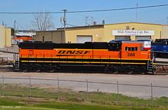 "BNSF SD75M No. 260 in Kansas City, MO (""Righteous"" Grant G.) Tags: bnsf emd railway railroad locomotive train trains power engine kansas city missouri midamerica car"