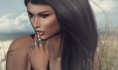 Couldn't Live A Day Without You! ... by Niani (xxnianixx) Tags: meva bento rings jewelry niani beach sea gras secondlife sl love
