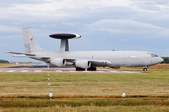 Royal Air Force, Boeing E-3D Sentry, ZH102. (M. Leith Photography) Tags: raf royal air force kinloss moray scotland aircraft aviation military boeing e3d sentry nato awacs markleithphotography nikon d3000 70300mmnikkorvr morayshire