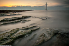 Perch Rock Lighthouse (6 of 12) (andyyoung37) Tags: merseyside newbrighton perchrocklighthouse seascape uk beach sunset thewirral
