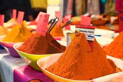 Paprika forte (W i n o) Tags: paprika colors italy market food spice