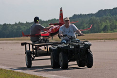 First in Flight RC Jet Rally 2014 - Crash Cart (John. Romero) Tags: radio plane canon airplane photography fly flying photo nc airport control aircraft aviation air rally flight jet first hobby airshow planes carolina wilson remote tamron rc flyin