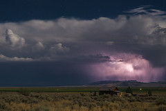 Lightning Ranch (Gentilcore) Tags: storm baker unitedstates nevada thunderstorm lightning whitepinecounty