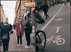 Södermalm, Stockholm - capital of hipsters and artist (Mad Orange) Tags: boy people art girl fashion photography evening artist sweden stockholm södermalm district hipster young bikes swedish icon sverige reportage youngsters sodermalm ostudio