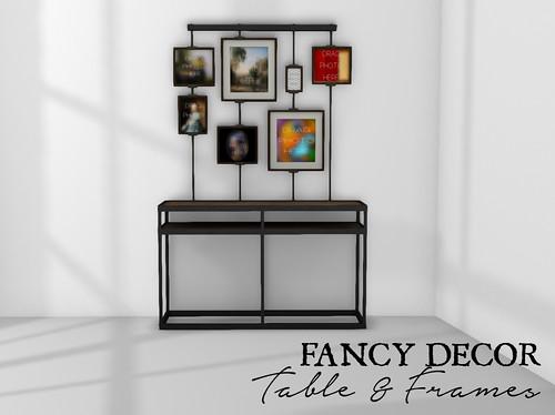 Table & Frame Set