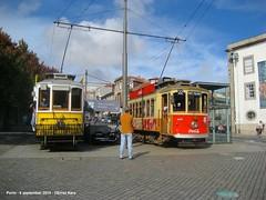 Batalha-Guindais (ernstkers) Tags: 203 205 porto portugal stcp stcp203 stcp205 streetcar tram tramvia tranvia trolley elctrico strasenbahn bonde sprvagn