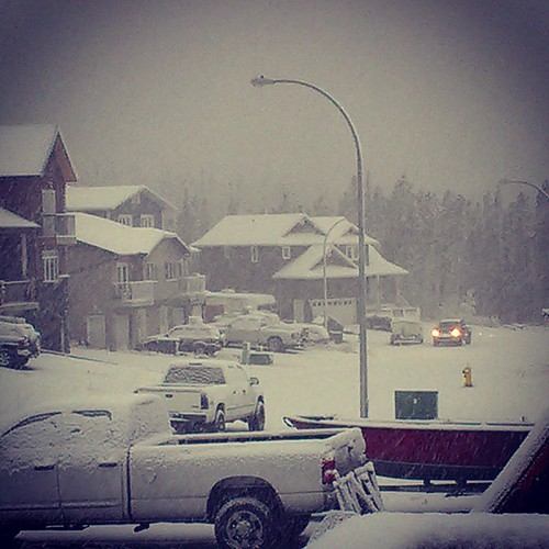 September #snow in #yxy #Yukon #YKstorm #fall #northernproblems