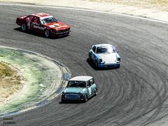 Mini & Porsche 911 & BMW M635i (GonzaloFG) Tags: detail slr ford chevrolet car skyline honda spain italia nissan ferrari camaro mclaren enzo bmw gto jaguar mustang m3 ducati audi lamborghini rs m6 m5 challenge avant rs2 spotting s2000 e30 nsx gallardo amg drifting rs4 typer gtr trackday murcielago etype quattro gt40 f40 r8 f12 rs6 f50 nismo e46 r34 e36 berlinetta superleggera 458 899 m3csl desmosedici panigale ftype 275gtb rs3 e92 circuitodeljarama stralade m235i