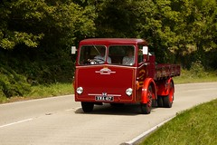 Albion Claymore XWA 417 (Ben Matthews1992) Tags: road old classic wales truck vintage wagon heart adams transport run historic lorry commercial vehicle 1956 preserved albion preservation waggon claymore 2014 dropside heartofwales xwa417