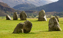 Castlerigg Stone Circle, near Keswick in Cumbria (baldychops) Tags: england mountain mountains history ancient standingstones scenery view northwest stones hill lakes lakedistrict scenic dramatic scene historic hills valley cumbria drama nationaltrust keswick thelakes stonecircle castlerigg castleriggstonecircle