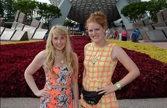 Disney World (Elysia in Wonderland) Tags: world vacation usa holiday america lucy orlando epcot florida earth disney september spaceship 2014 elysai
