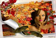 WOMEN AND AUTUMN (Elisabeth Gaj) Tags: autumn portrait people women herecomesthesun texsture elisabethgaj ithinkthisisart bestgroup veryflickr weloveart 100commentgroup dreamlikephotos takenwithhardwork flickrnotdied betaisnotgood