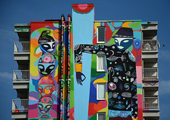 R.U.A. 2014 amsterdam (wojofoto) Tags: streetart holland amsterdam mural nederland netherland rua bijlmer 2014 wojofoto