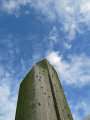 beams (Mattijsje) Tags: blue sky cloud holland nature netherlands fly skies skyscrapers towers nederland natuur twin flies beams hout twee vliegen palen nieuwkoop balken nieuwkoopseplassen groenaanslag