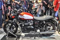 Triumph Bonneville Newchurch.