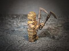 The Mummy (SecutorC) Tags: greek starwars fighter lego roman dwarf fantasy future demon warhammer warrior samurai minifig custom viking orc dwarves spartan gladiator samuraix apoc customx gox customlego fighterx fantasyx soldierx romanx starwarsx greekx steampunkx warriorx skyrimx dwarfx warhammerx appocx dwarvesx