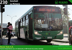 230 | Conchalí - La Pintana (Mr. Mobitec) Tags: chile santiago bus buses mercedesbenz caio publictransport 230 transporte santiagodechile mapocho transantiago transportepúblico santiagocentro vule estaciónmapocho calycanto caiomondego subuschile troncal3 puentecalycanto o500u caioinduscar mondegoh busesvule metropuentecalycanto serviciosdeapoyo