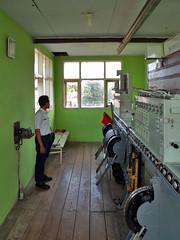 Zvisl vhybksk stavdlo, Banyuwangi Baru, Banyuwangi (Vchodn Jva) (Petr Patoka) Tags: signalbox banyuwangi siemenshalske