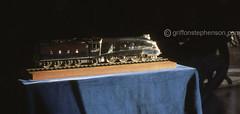 Millennium Mallard (Griffon Stephenson) Tags: mallard a4 nationalrailwaymuseum steamtrains britishrailways lner sirnigelgresley preservedsteamlocomotives a4pacifics 4468mallard nationalrailwaycollection sheffieldassayoffice steamspeedrecordholder 2000themillennium britishsilverwareltd