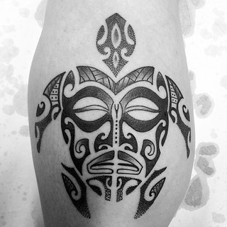 Renato tatuajes r r 39 s most recent flickr photos picssr for Tortuga maori