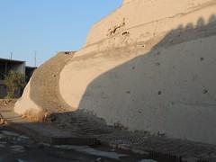 DSCN5506 (bentchristensen14) Tags: uzbekistan citywall khiva ichonqala