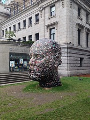 Douglas Coupland Gum Head at the Vancouver Art Gallery (sillygwailo) Tags: vancouver douglascoupland vancouverartgallery gumhead
