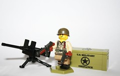 LEGO SGT. EVANS CUSTOMIZED (Keaton FillyDing) Tags: evan evans lego figure custom crate sgt minifigure m2hb brickarms overmold
