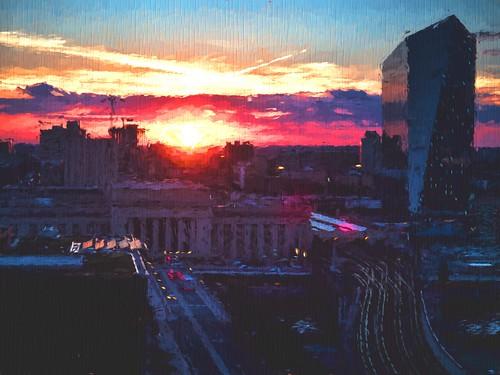 Philly Sunset - Impression