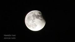 A Small Bite of Moon Cake - Lunar Eclipse Oct. 8 2014 Taipei (Frances Tsai Film) Tags: moon eclipse bite taipei lunar lunareclipse mooneclipse oct8    lunareclipsetaiwan october82014 lunareclipsetaipei mooneclipsetaiwan