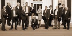 Canadas Premiers / premiers ministres des provinces et territoires with/avec Lieutenant-Governor/Lieutenant-Gouverneur H. Frank Lewis