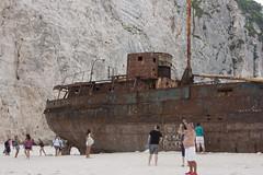 IMG_6860 (paul jeffrey 1) Tags: sea beach eos ship sigma greece shipwreck zante zakynthos smugglerscove 2014 panagiotis canond450