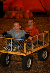 Play in the pumpkins (Four Straites) Tags: halloween pumpkin path rancho