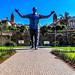 Nelson Mandela Statue HDR