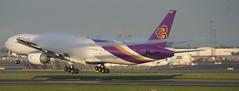 HS-TKM 2013-09 Thai 773 Cph (Danner Poulsen) Tags: plane thailand fly bangkok aircraft jet spray september landing thai boeing airways cph spotting avion thaiair boeing777 danner b777 condense flyver tripleseven ekch kondens 2013 kystvejen 7773aler hstkm 20130903