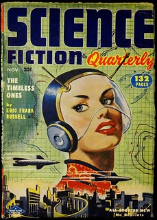 Science Fiction Quarterly Vol. 2, No. 1 (Nov., 1952). Cover Art by Milton Luros