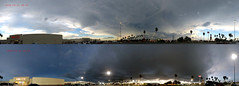 Before and After (Gem Images) Tags: panorama usa storm rain clouds texas pano thunder harlingen