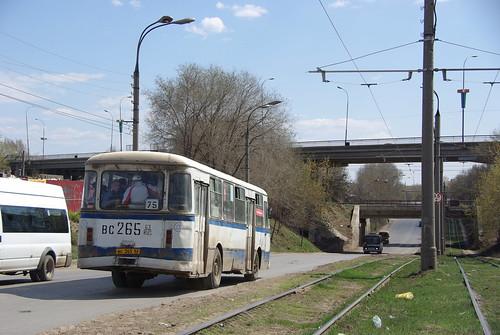 Samara bus LiAZ-677 ©  trolleway