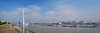 Revisiting the high wire (beqi) Tags: panorama london tower skyline greenwich aerial cablecar riverthames photoshoppery 2014 emiratesairline