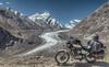 Parked at Drang Drung Glacier- Zanskar