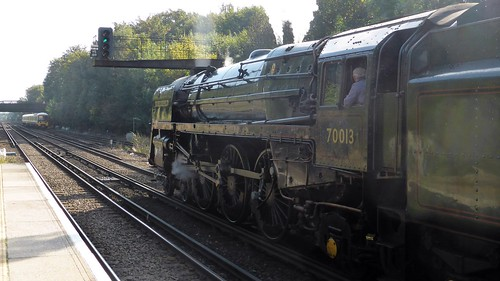 70013 'Oliver Cromwell' Reading to Canterbury West 1Z82