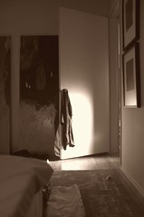 Bedroom Door (richardserra63) Tags: california door urban bw white black contrast la bedroom highlights study