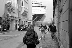 Istanbul (vgundarev) Tags: life street city travel sea bw port canon turkey photography photo asia europe streetphotography istanbul bnw bosphorus marmara markii bosporus dardanelles турция путешествие bosfor стамбул босфор