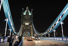 Tower Bridge in the night (Ste_Nikon) Tags: england london night ponte luci londra notte inghilterra