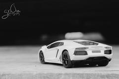 PSX_20141004_223847 (gr0minator) Tags: macro cars toy toys creative actionfigures lamborghini japanesetoys toyphotography revoltech articulatedfigure figma aventador